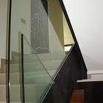 Barandilla para escalera de vidrio