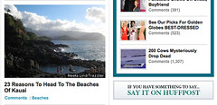 HuffPo uses my pic of FP of travel section
