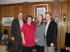 The Schierer family - my hosts in TX