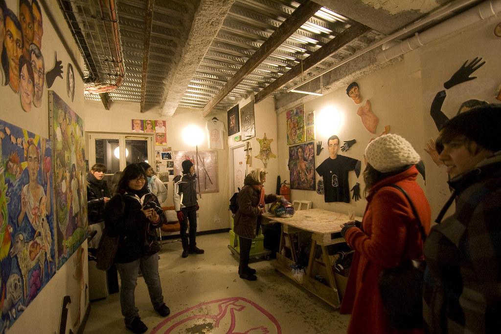 art squat at 59 rivoli