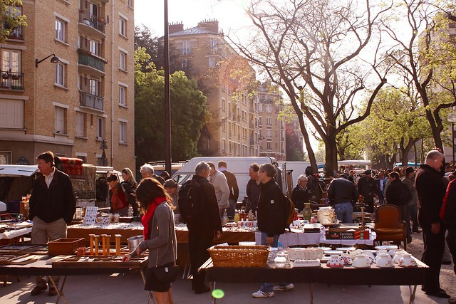 paris flea
