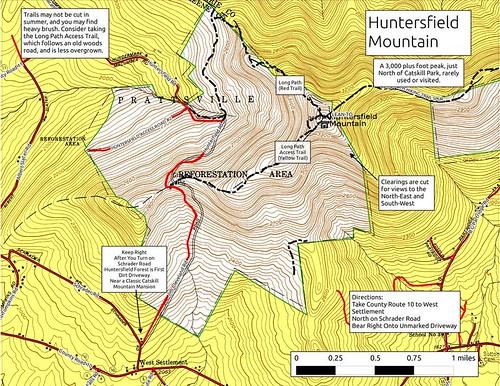 mountain maps windham huntersfield andyarthur mapswindham