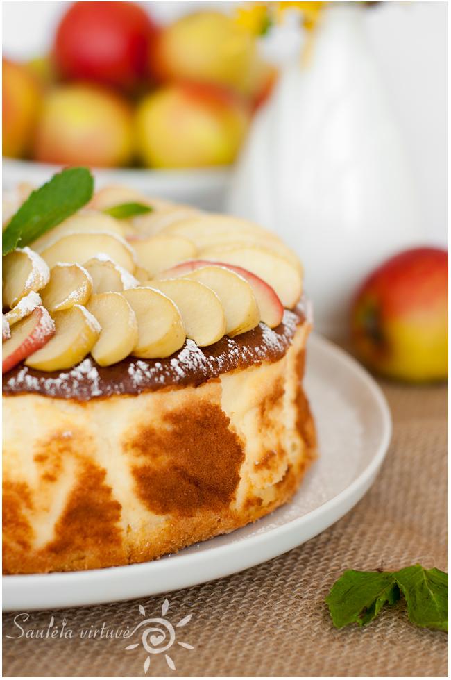 Sūrio pyragas su obuoliais (2)