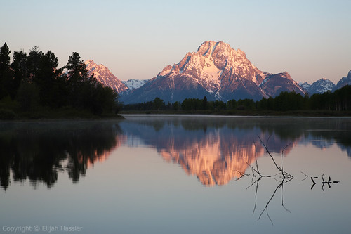 Grand Teton from Oxbow Bend