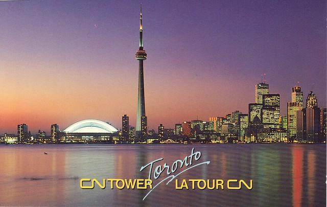 Great American Crossing 1995: Toronto, Canada - CN Tower