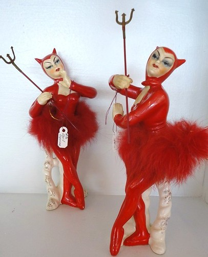 Ceramic Devil Women by luvehorror