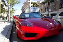 race car, automobile, automotive exterior, vehicle, performance car, automotive design, ferrari 360, bumper, land vehicle, luxury vehicle, supercar, sports car,