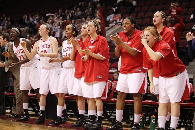 Boston University women's basketball cheer from the ...