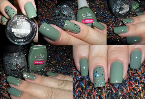 Militar Colorama + Techno China Glaze
