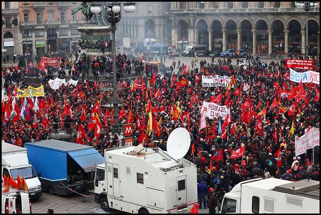 Ultimatum di Cgil, Cisl e Uil al Governo Renzi