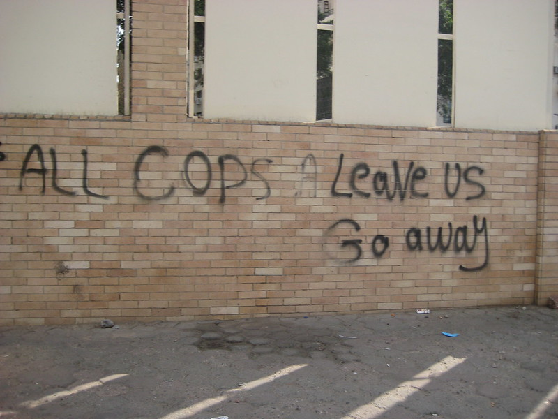 All Cops, Leave Us, Go Away