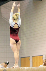 TWU Gymnastics Beam - Brittany Johnson