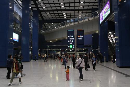 Ground level concourse at Tai Wai station