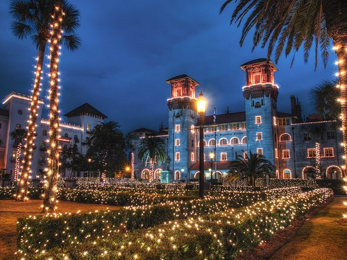 Lightner Museum, Nights of Lights, St. Augustine