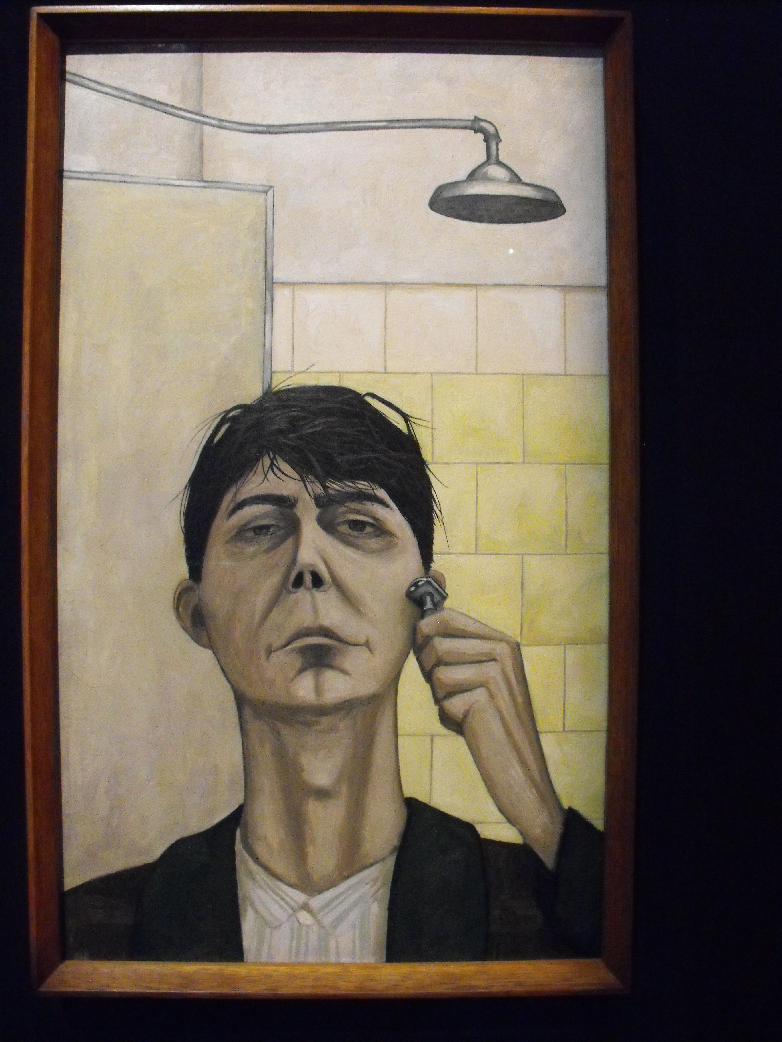 john brack -- self portrait