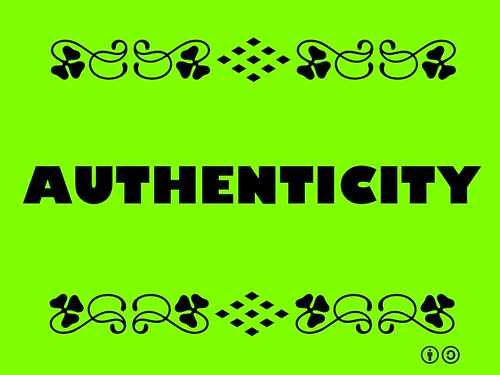Buzzword Bingo: Authenticity = Truthfulness of origins, attributions, sincerity and intentions #buzzwordbingo