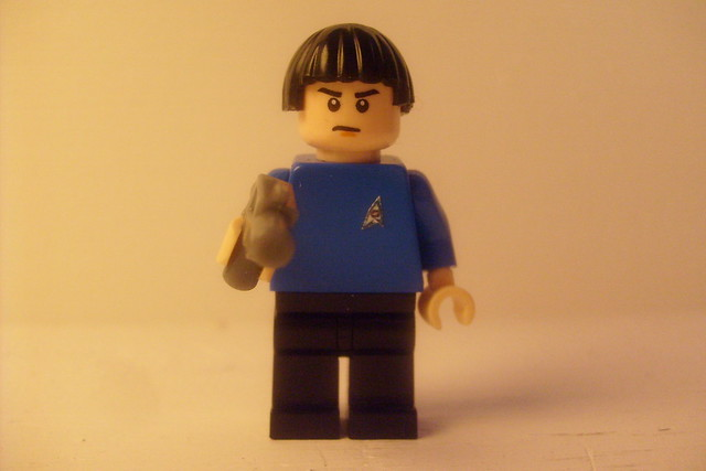 Custom Lego Star Trek 2009 Minifigure Spock