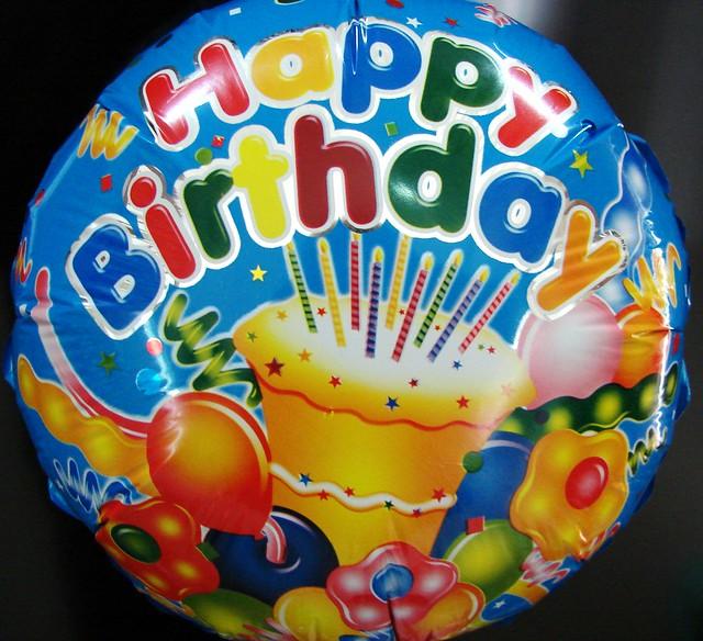 Balon Ultah pake stick (Kecil) | Flickr - Photo Sharing!
