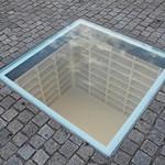 Denkmal für die Bücherverbrennung auf dem Berliner Bebelplatz