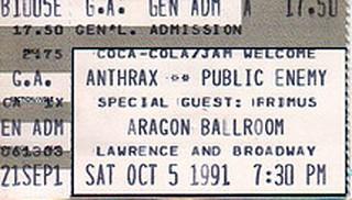 Anthrax - Public Enemy