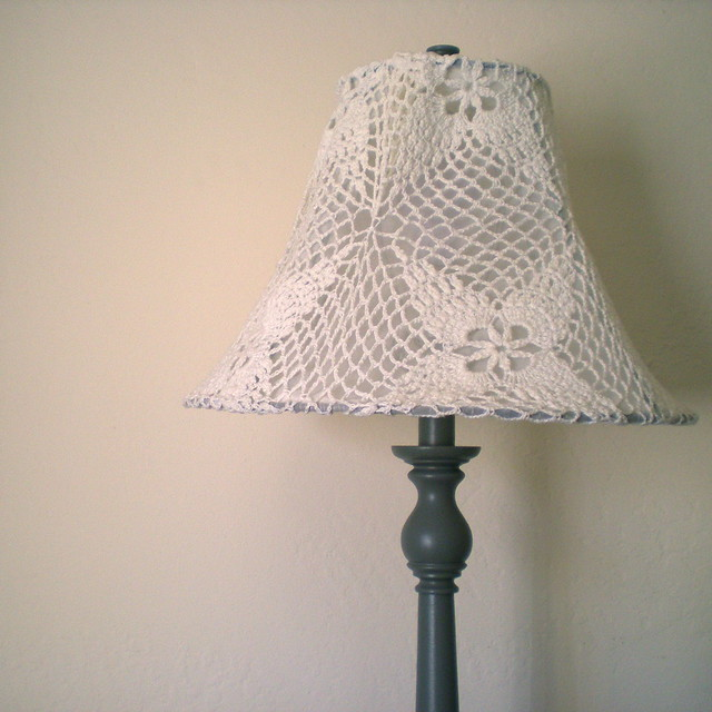 shabby chic lamp diy after flickr photo sharing. Black Bedroom Furniture Sets. Home Design Ideas