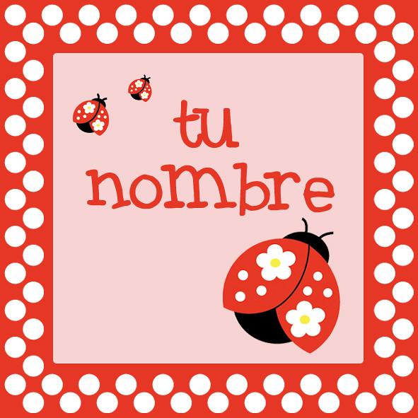 Tarjetitas de cumpleaños de vaquita de San antonio - Imagui