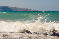 crete / sea
