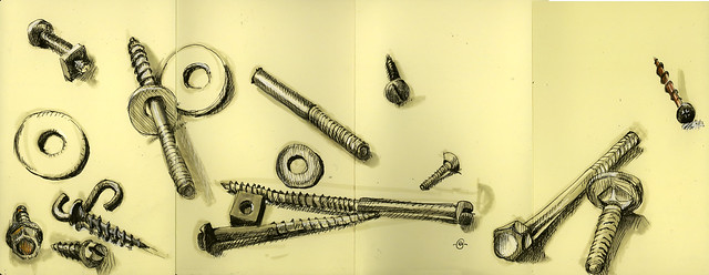 Bolts, Screws, Washers & Nuts