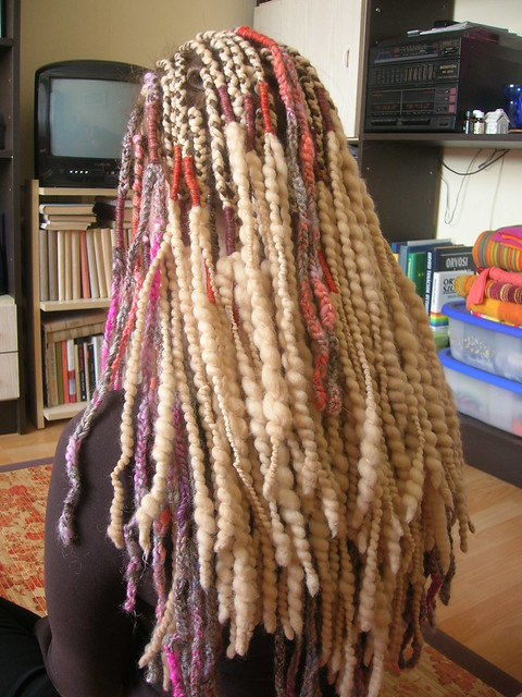 Crochet Dreads : Pastel Multicolor Crochet Dreads With Blonde Wool Dreadloc? Flickr ...