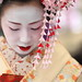 geisha / face / make up / hair / kyoto / japan / photo / japanese