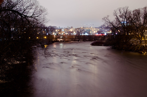 nightfall in Guelph by NaturesEssence