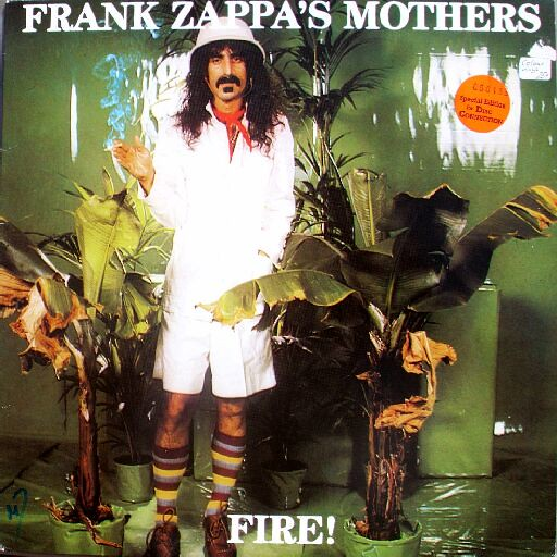 Frank Zappa Amp Mothers Fire Bootleg Montreux 1971 1989