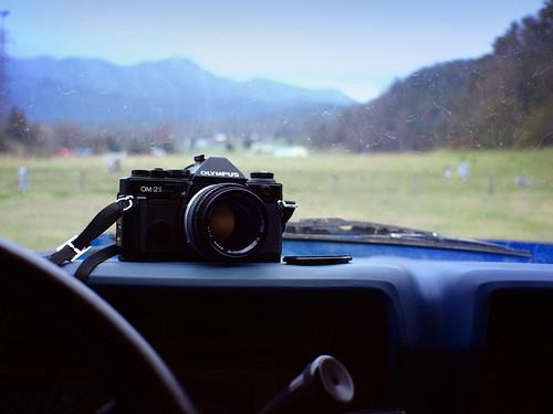 camera copyright slr olympus dashboard filmcamera zuiko allrightsreserved 35mmcamera om2sp legacylens omzuiko50mm114 ezuiko25mm14 penfmicro43adapter ©daveelmore