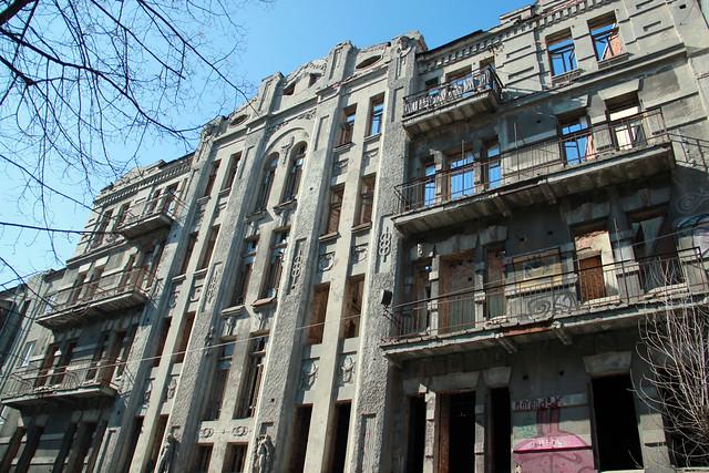 Altes Gebäude in Charkiw, 21.03.2014 Foto: Kyryl Savin, Heinrich-Böll-Stiftung