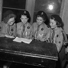 Eighth Methodist Oswestry Girl Guides Company, 1956