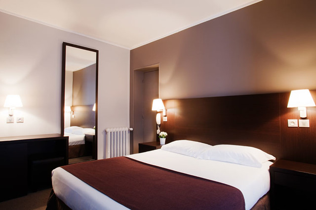 Cheap Paris Hotel - Hotel Paris Montparnasse Taupe Double Room ...