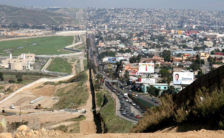 Tijauna-San Diego Border