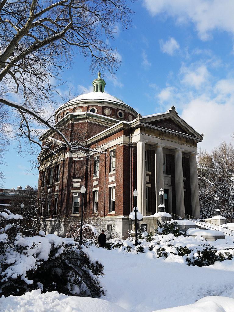 Earl Hall, Columbia University, New York City - watersling