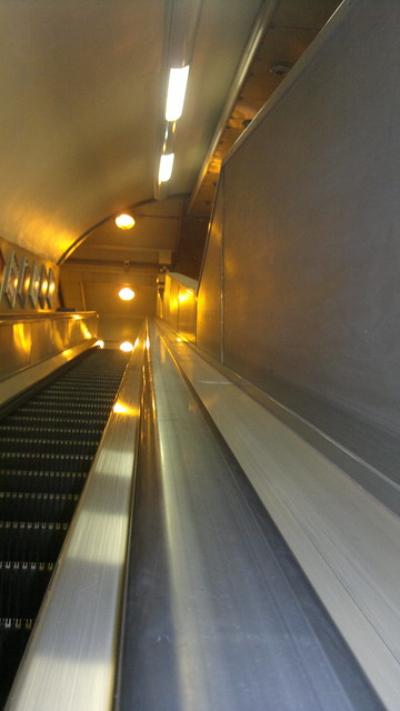 Empty Underground: going up