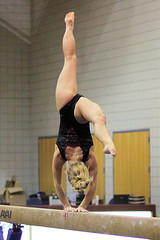 TWU Gymnastics - Beam - Brittany Johnson