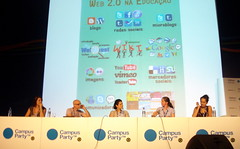 Educarede Panel at Campus Party
