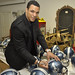 Tony Gonzalez Signs Helmets