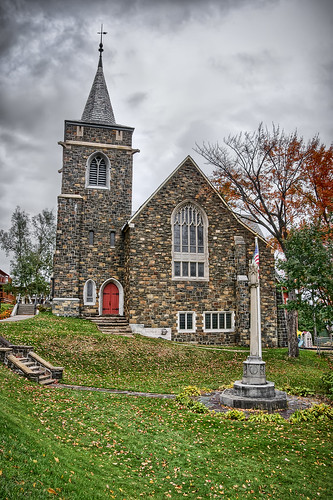 autumn ny brick fall church stone architecture nikon upstate adirondacks upstatenewyork hdr highdynamicrange adk lakeplacid d90 hdrphotography nikond90 adirondackmountainrange