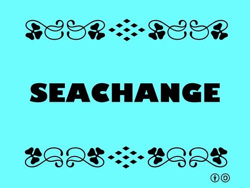 Buzzword Bingo: Seachange