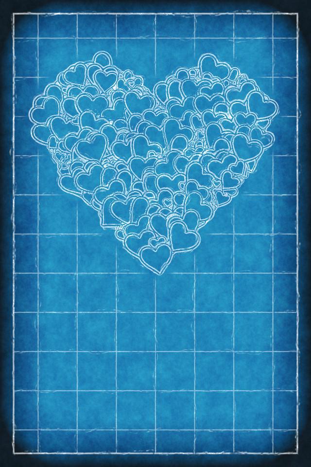 Blueprint Heart