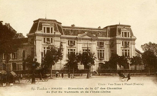 TONKIN - HANOI - DIRECTION DE LA Cie DES CHEMINS DE FER DU YUNNAM ET DE L'INDOCHINE