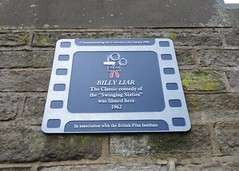 Photo of Billy Liar film cell plaque