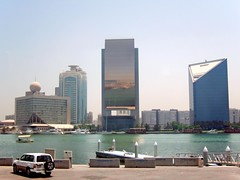 View across Dubai Creek