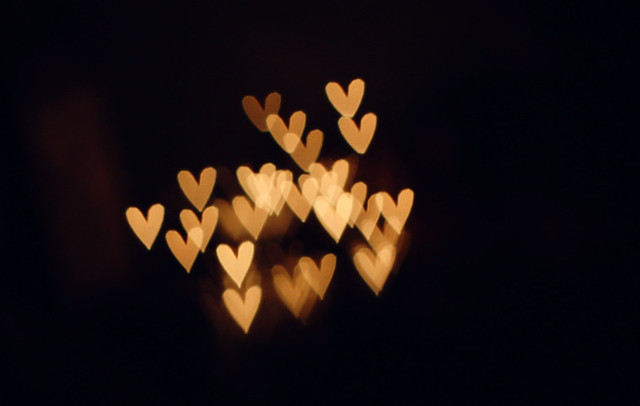 Somebody discovered today the secret of the Heart bokeh
