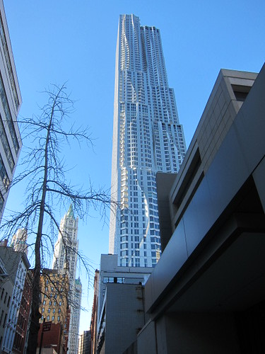8 Spruce St. by Gehry